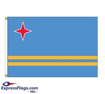Aruba Nylon FlagsABW-NYL