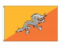 Bhutan Nylon Flags - (UN Member)