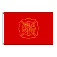 Firefighters Flag - 3' x 5' Endura-Nylon
