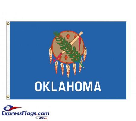 Nylon Oklahoma State FlagsOK-NYL