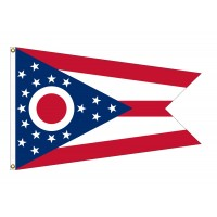 Nylon Ohio State Flags