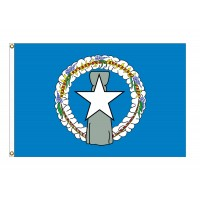 Nylon Northern Marianas Flags