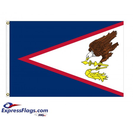 Nylon American Samoa FlagsAS-NYL