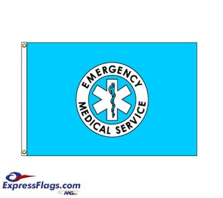 EMS Flag - 3  x 5  Endura-Nylon070287