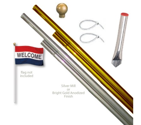 Aluminum Display Pole SetsBPA