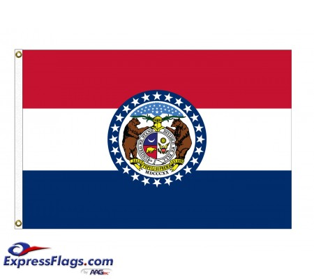 Poly-Max Missouri State FlagsMO-PM
