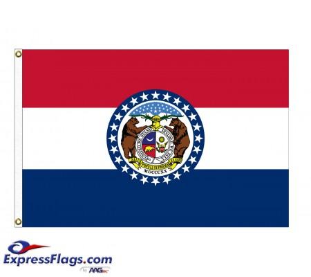 Nylon Missouri State FlagsMO-NYL