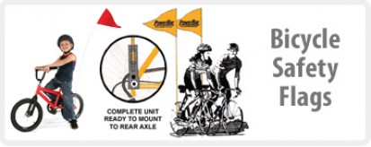 Bicycle Safety Flags