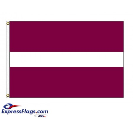 Latvia Nylon Flags (UN Member)LVA-NYL