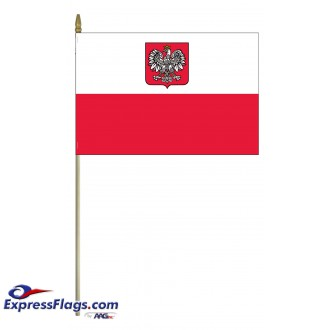Poland Mounted Flags (Eagle)