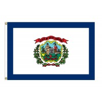 Nylon West Virginia State Flags