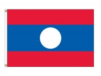 Laos Nylon Flags (UN Member)