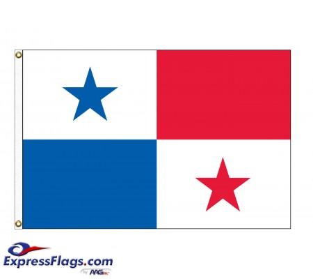 Panama Nylon Flags (UN, OAS Member)PAN-NYL