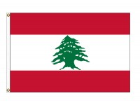 Lebanon Nylon Flags (UN Member)