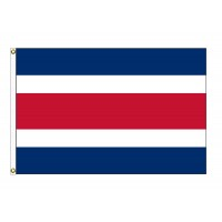 Costa Rica Nylon Flags - No Seal