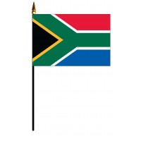 South Africa Mounted Flags