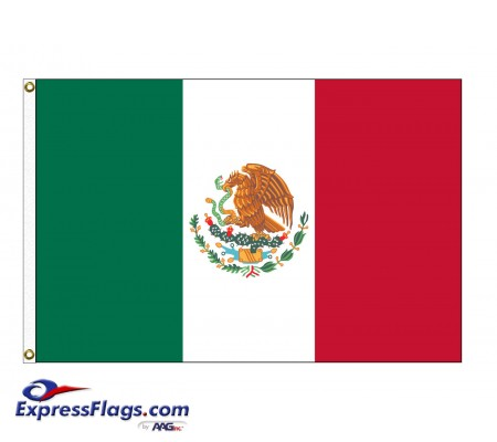 Mexico Nylon Flags (UN, OAS Member)MEX-NYL