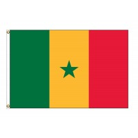 Senegal Nylon Flags (UN Member)