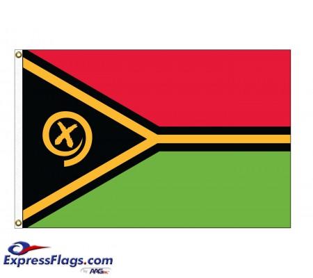 Vanuatu Nylon Flags (UN Member)VUT-NYL