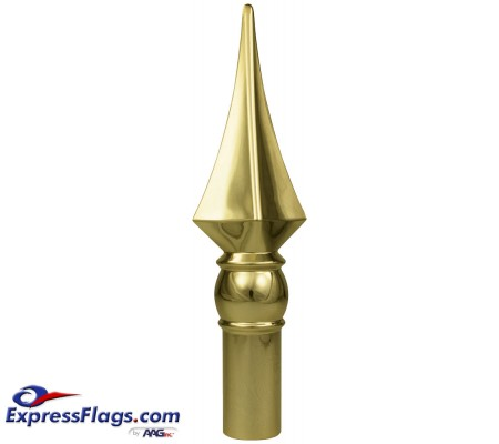 Styrene Spear Ornament for Indoor Display Flagpoles050548