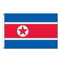 Korea, North Nylon Flags (UN Member)
