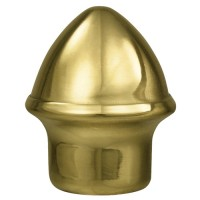 Solid Brass Acorn Ornament for Indoor Display Flagpoles