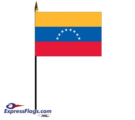 Venezuela Mounted Flags
