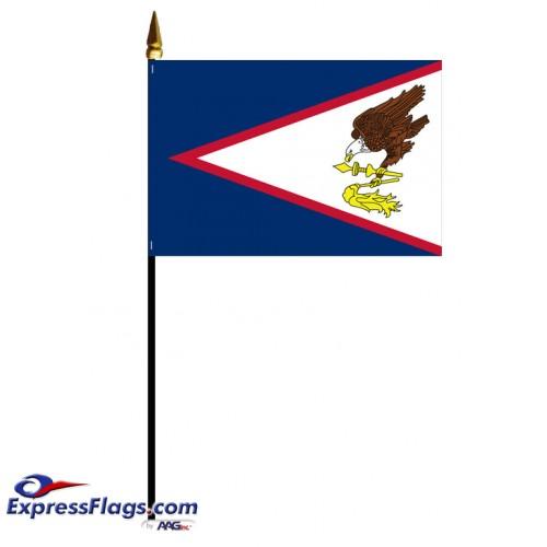 Mounted American Samoa Flags021855