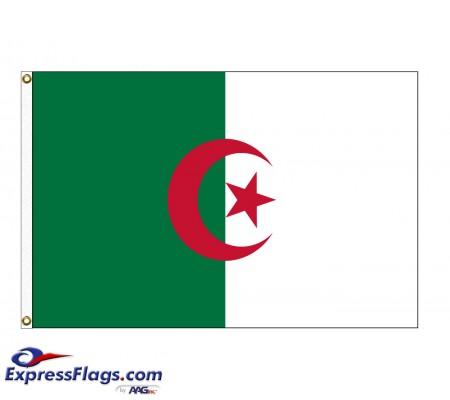 Algeria Nylon Flags - (UN Member)DZA-NYL