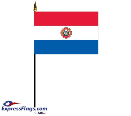 Paraguay Mounted Flags033240