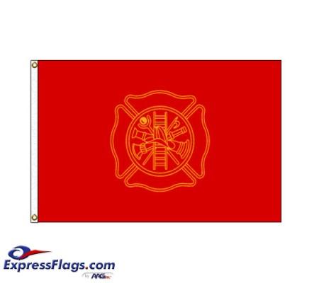 Firefighters Flag - 3  x 5  Endura-Nylon070284