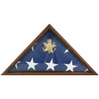 Cherry Memorial Flag Case - Fits 5' x 9-1/2' Flag