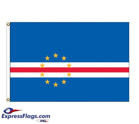 Cape Verde Nylon Flags  (UN Member)CPV-NYL