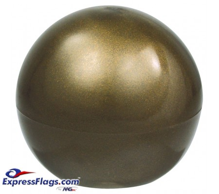 Plastic Ball Ornament for Indoor Display Flagpoles050145