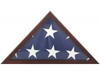 Poplar Memorial Flag Case - Fits 5' x 9-1/2' Flag