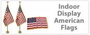 American Flag Indoor Display Sets