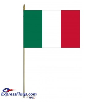 Italy Mounted Flags