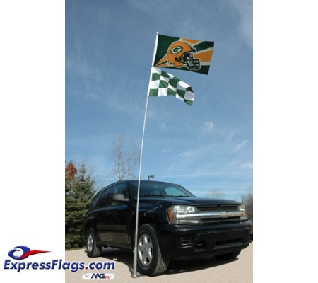 Fiberglass Collapsible Flagpole To Go - 16 ft.324180
