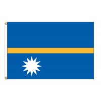Nauru Nylon Flags (UN Member)