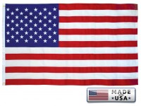 ENDURA-TEX Cotton American Flags