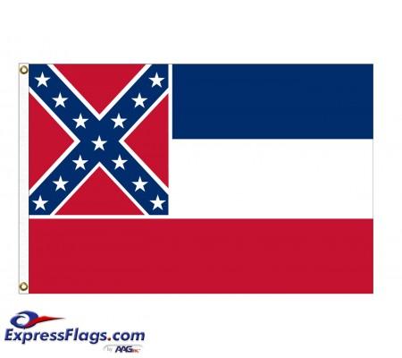 Nylon Mississippi State FlagsMS-NYL