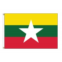 Myanmar Nylon Flags (UN Member)