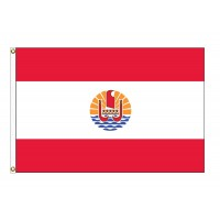 French Polynesia Nylon Flags