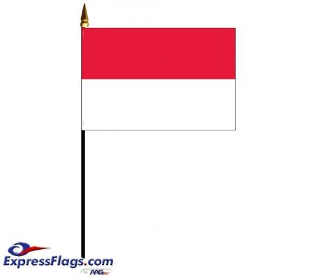 Monaco Mounted Flags