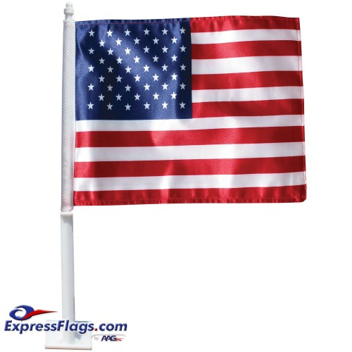U.S. Auto Window Flag Set010252