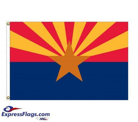Nylon Arizona State FlagsAZ-NYL