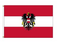 Austria with Eagle Nylon Flags