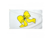 Yellow Ribbon Flags - 3' x 5'