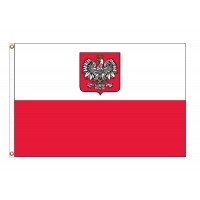 Poland Nylon Flags (Eagle)