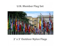 2ft x 3ft Complete U.N. Member Flags - 193 Outdoor Nylon Flags